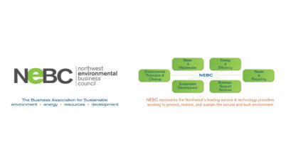Logo for Northwest Environmental Business Counscil